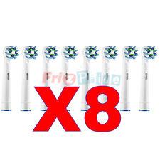 ACTION Testine 8 CROSS Spazzolino Ricambio Elettrico Compatibili Braun Oral B ww