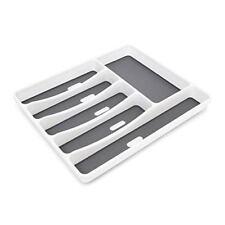 Relaxdays Range-couverts en Matière Plastique 6 compartiments Rangement tiroir