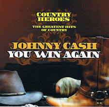 "JOHNNY CASH ""You Win Again"" COUNTRY HEROES NEW & ORIGINAL PACKAGE Dynamic 2007"