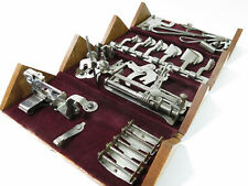 COMPLETE! Restored & Refinished Antique Singer Sewing Machine 1889 Puzzle Box