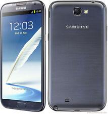 "Samsung Galaxy NoteII GT-N7100 16GB Android 5.5"" Débloqué Téléphone Gris Gray"