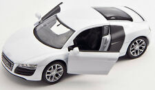 BLITZ VERSAND Audi R8 V10 weiss / white Welly Modell Auto 1:34 NEU & OVP 1