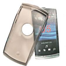 Silikon TPU Handy Hülle Cover Case Schutzhülle  Smoke für Sony Ericsson Vivaz