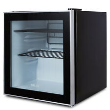 NEW Mini Beverage Fridge Built-In Cooler Refrigerator, Reversible Door -Black
