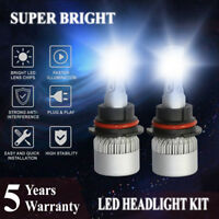 LED Headlight Kit 9007 HB5 6000K White Hi//Lo Bulb for FORD Thunderbird 1994-2005