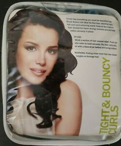Conair Brush Rollers Tight & Bouncy Curls Body (Set of 36 w/Pins) NEW #61146