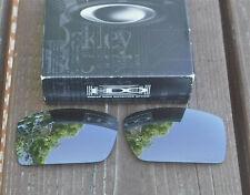 New Oakley Gascan Sunlgasses Polarized Black Iridium Replacement lens 13-505