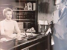1956 These Wilder Years JAMES CAGNEY BARBARA STANWYCK Original Vtg Photo #499