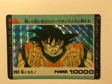 Dragon Ball Z PP Card Prism 253