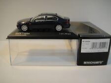 --1/43 MINICHAMPS. BMW 7-Series 2001. Blue Metallic.
