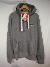 Super Cool Mens XL Superdry Orange Label Hoodie Pearl Blue Grindle BNWT !!!