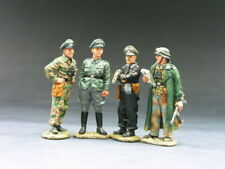 King & Country WS075 Panzer Commandants Conference - Collectors Showcase Figarti