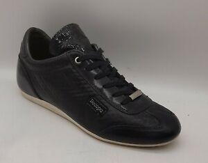Mens CRUYFF Recopa Size 7 UK Dark Blue + Black Trainers/Sneakers Laced In E U C