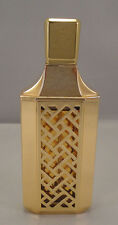 SHALIMAR Guerlain Spray 1.7 oz 50 ml Gold Lattice Refillable Paris VTG Women