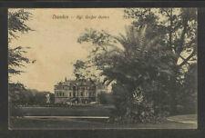 1910 DRESDEN KGL GROSSER GARTEN GERMANY POSTCARD
