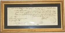 O5549 Unique Lettre Change Napoleon X 1421 Livres Tournois 1801 B. Desnoyers SUP
