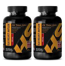 Thiamin 550mg ELK VELVET ANTLER HS-PRIME immune support vitamins organic 2 Bot