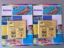 Pool Reparaturset Flicken Vinyl Reparatur Kit Schlauchboot Luftmatratze 4in1 Set