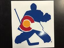 Colorado Hockey Goalie Sticker
