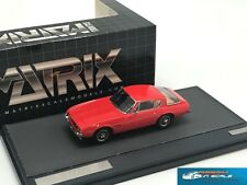 Ghia 230S Coupe red 1963 Matrix MX10701-012 1:43