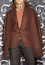 NWT $1900 MP MASSIMO PIOMBO BY KITON CASHMERE WOOL COAT MADE ITALY 40 42