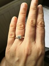 Lovely Silver 925 Cubic Zirconia Ring by NEXT Size K