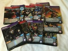Transformers TCG Wave 1 Character Cards **Choose Your Own** MULTI-CARD DISCOUNTS
