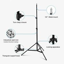 7ft Light Stand Tripod 2m Adjustable For Photography Studio Boom Video Lighting