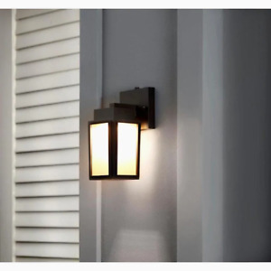 Portfolio Wren Hill 8.25-in H Bronze LED Outdoor Wall Light