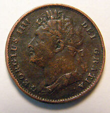 1822 ENGLISH FARTHING GEORGE IIII EXTRA NICE FOR ITS AGE MUST SEE