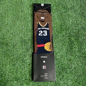 Stance Men's NBA Legends Anthony Davis Hardwood Classic Socks Size M 6-8.5 NEW