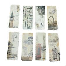 30x Vintage Eiffel Tower Bookmark EU Scenes Book Marker Office Stationery ZXC