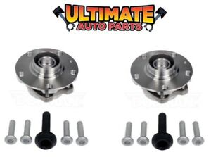 Front Wheel Bearing Hubs (Pair Left and Right) for 05-08 Audi S4