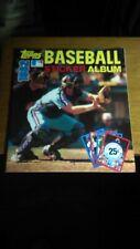 Unused 1982 Topps Baseball Sticker Album (Gary Carter) EX-MT