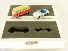 Schuco Piccolo Set 77419 Bosch-Philips,Porsche 356, VW Bulli, lim. nur 2000St !