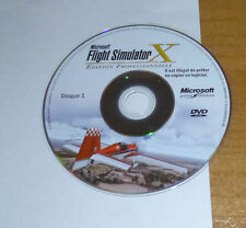 CD n°1 du jeu PC Microsoft flight simulator X edition professionnelle