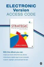 Strategic Management Electronic Version : Theory and Practice: By Parnell, Jo...