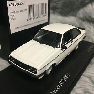 Minichamps 1:43 Ford Escort Mk2 RS2000 1975 Diamond White 400-084300