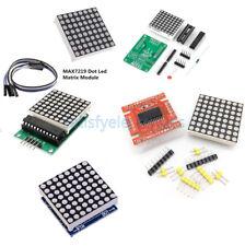 1pcs 8x8 3mm5mm Dot Matrix Display Redfull Color Rgb Led Max7219 Diy Kit