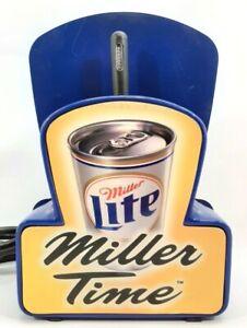 Vintage Miller Lite Digital Floating Bar Clock