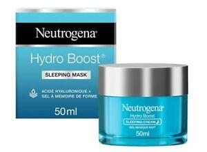 1 Pot de 50ml Crème Hydratante Neutrogena Hydro Boost Visage de Nuit Soin Visage
