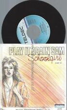 "7""    Play It Again Sam – Schoolgirl // PROMO"