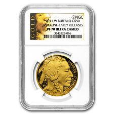 2011-W 1 oz Proof Gold Buffalo PF-70 NGC (ER) - SKU #64726