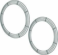 2x Wire Wreath Making Rings 16 Inch for Christmas Year Make Doors Decoration
