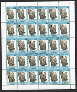 1984 Antigua & Barbuda - Song Birds - Full Sheet - Mint and Never Hinged.