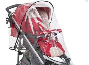 Baby Stroller Rain Cover Universal Pushchair Waterproof Transparent Snow Wind