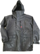Trespass M Medium Large Jacket Coat Windproof Biker Grey Rain Waterproof Hood