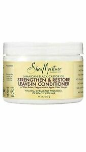 Shea Moisture Jamaican Black Castor Oil Leave-In Conditioner 13 Oz