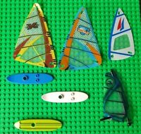 Lego Windsurfing Parts, Boards and Sails