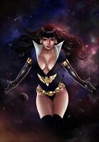🚨🦇🔥 VAMPIRELLA THE DARK POWERS #1 MIKE KROME Virgin Variant Ltd 500 NM